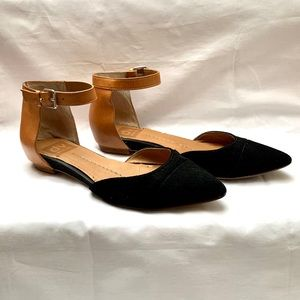 DV Suede and Leather Flats
